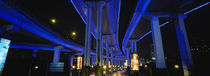 Low Angle View Of An Overpasses, Shanghai, China von Panoramic Images