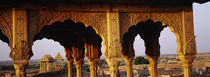 Monuments at a place of burial, Jaisalmer, Rajasthan, India by Panoramic Images