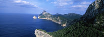 High angle view of an island, Majorca, Spain by Panoramic Images