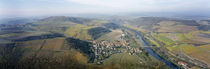 Aerial view of a city, Oberhausen, Nahe, Rhineland-Palatinate, Germany by Panoramic Images