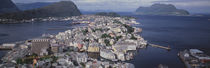 Cityscape Alesund Norway by Panoramic Images