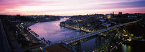 Bridge across a river, Dom Luis I Bridge, Duoro River, Porto, Portugal von Panoramic Images