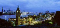 Germany, Port Hamburg by Panoramic Images