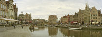 The Koornlei, Ghent, East Flanders, Belgium by Panoramic Images