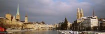 Winter, Zurich, Switzerland by Panoramic Images