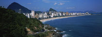 Buildings On The Waterfront, Rio De Janeiro, Brazil von Panoramic Images
