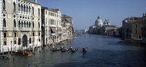 Gondolas in a canal, Grand Canal, Venice, Veneto, Italy by Panoramic Images