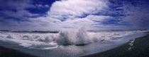 Waves breaking at the coast, Iceland by Panoramic Images