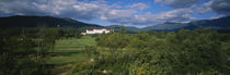 Hotel in the forest, Mount Washington Hotel, Bretton Woods, New Hampshire, USA by Panoramic Images