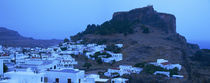 Town on an island, Lindos, Rhodes, Greece von Panoramic Images