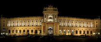 Facade of a palace, The Hofburg Complex, Vienna, Austria von Panoramic Images