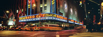 Manhattan, Radio City Music Hall, NYC, New York City, New York State, USA by Panoramic Images