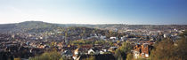 High angle view of buildings in a city, Stuttgart, Baden-Württemberg, Germany von Panoramic Images