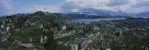 'High angle view of a city, Lucerne, Switzerland' by Panoramic Images