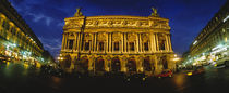 Facade of a building, Opera House, Paris, France von Panoramic Images