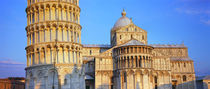 Leaning Tower Of Pisa, Piazza Dei Miracoli, Pisa, Tuscany, Italy von Panoramic Images