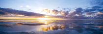 Sunrise On Beach, North Sea, Germany von Panoramic Images