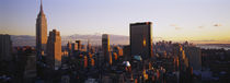 Buildings in a city, Manhattan, New York City, New York State, USA by Panoramic Images