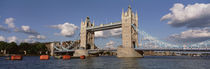 Bridge Over A River, Tower Bridge, Thames River, London, England, United Kingdom by Panoramic Images