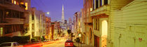 Evening In San Francisco, San Francisco, California, USA by Panoramic Images