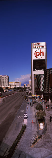Buildings in a city, The Strip, Las Vegas, Nevada, USA von Panoramic Images