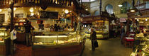 Interiors of a market, Saluhall Market, Stockholm, Sweden by Panoramic Images