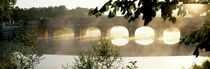 Stone Bridge In Fog, Loire Valley, France by Panoramic Images