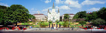 Panorama Print - Jackson Square, New Orleans, Louisiana, USA von Panoramic Images