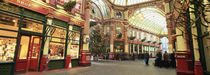 Interiors of a market, Leadenhall Market, London, England by Panoramic Images