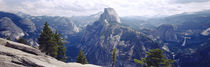 Half Dome High Sierras Yosemite National Park CA von Panoramic Images