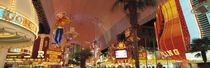 Panorama Print - Fremont Street, Las Vegas NV USA  von Panoramic Images