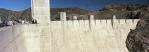 Tourists on a dam, Hoover Dam, Arizona and Nevada, USA by Panoramic Images