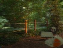 Playground sunset by Bence Csordas