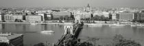 Chain Bridge Over The Danube River, Budapest, Hungary by Panoramic Images