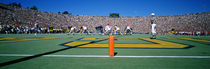 Football Game, University Of Michigan, Ann Arbor, Michigan, USA by Panoramic Images