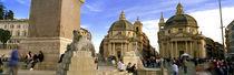 Santa Maria Di Montesanto, Piazza Del Popolo, Rome, Italy von Panoramic Images