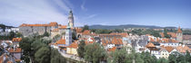 Buildings in a city, Cesky Krumlov, South Bohemia, Czech Republic von Panoramic Images
