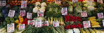 Close-up of Pike Place Market, Seattle, Washington State, USA by Panoramic Images