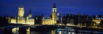 Big Ben, Houses Of Parliament, Westminster, London, England by Panoramic Images
