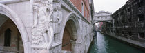 Bridge across a canal, Bridge of Sighs, Venice, Italy by Panoramic Images
