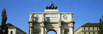 Victory Gate, Munich, Germany by Panoramic Images