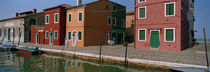 Houses along a canal, Burano, Venice, Veneto, Italy by Panoramic Images
