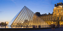 Musee Du Louvre, Paris, Ile-de-France, France by Panoramic Images