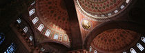 Turkey, Istanbul, Suleyman Mosque, interior domes von Panoramic Images