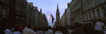 Street entertainer performing in the street, Royal Mile, Edinburgh, Scotland by Panoramic Images