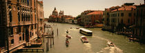 High angle view of boats in water, Venice, Italy by Panoramic Images