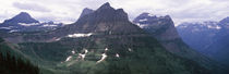 Mountain range, US Glacier National Park, Montana, USA by Panoramic Images