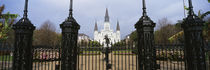 Facade of a church, St. Louis Cathedral, New Orleans, Louisiana, USA by Panoramic Images
