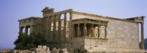 Ruins of an ancient building, Erechtheion, Athens, Greece von Panoramic Images