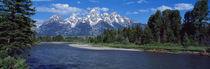 Snake River & Grand Teton WY USA von Panoramic Images